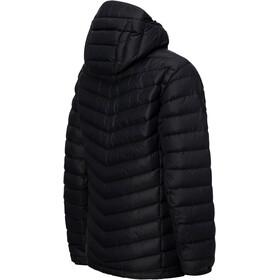 Peak Performance M's Frost Down Hooded Jacket Black
